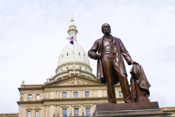State Capitol Building and Austin Blair Memorial