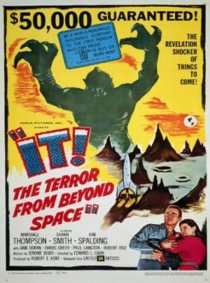 It the terror from beyond space PAC movie poster