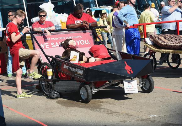 Bed Races | Louisiana Pirate Festival