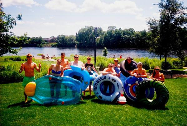 Visit Eau Claire Fun Finders Floating in Eau Claire