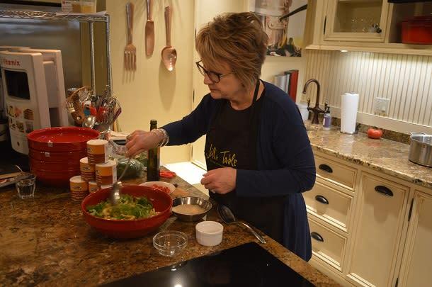 Cooking at Jills Table