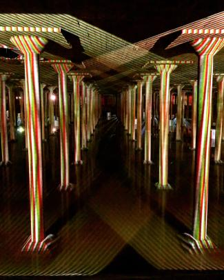 Buffalo Bayou Cistern Spatial Chromointerference