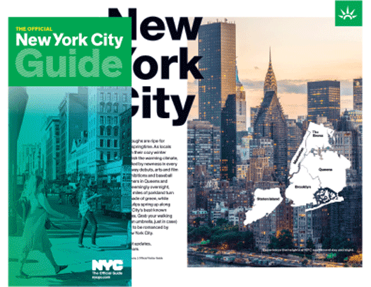 NYC Official Visitor Guide