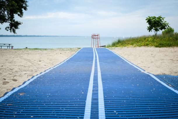 Accessibility Mats Canatara Beach