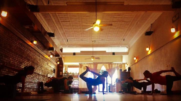Experience relaxation during a Yoga Center of Lake Charles class. Walk-in's welcome!