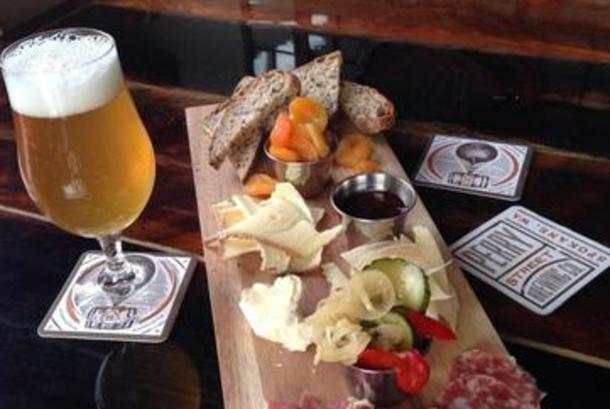Charcuterie & Cheese board at PSB