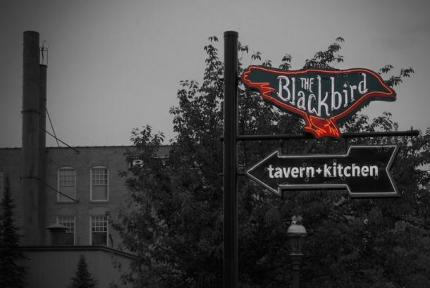 Blackbird Sign
