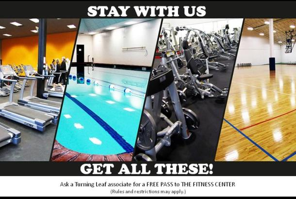 Free Pass to The Fitness Center