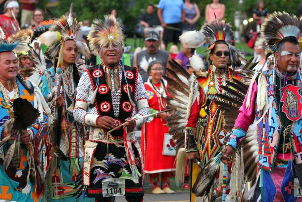Gathering at the Falls Powwow 4