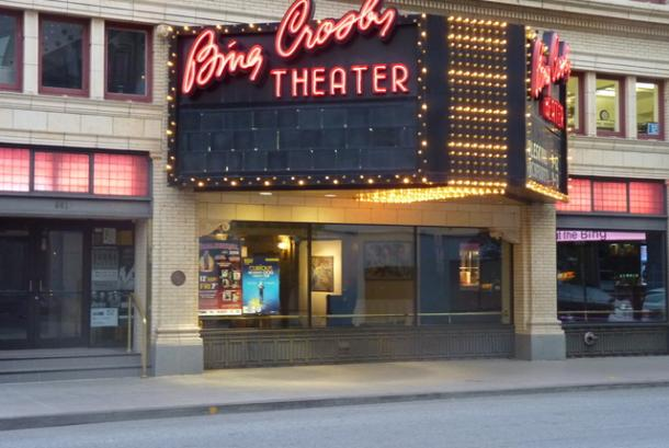 The Bing Theater Marquee