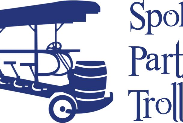 Spokane Party Trolley Logo
