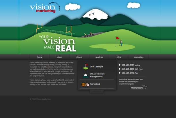 Vision Marketing - Golf, Ski & Sports Marketing