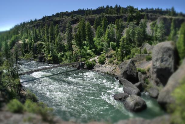 Spokane River White Water