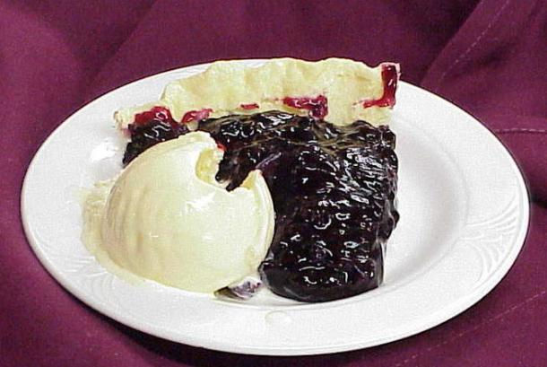 Hill's famous Huckleberry pie
