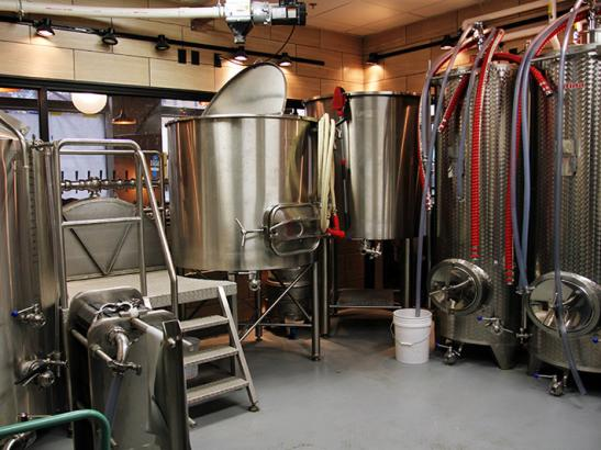 Tour the craft brewery