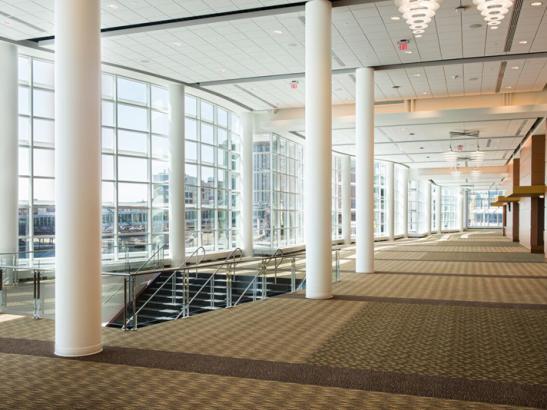 Ballroom Lobby by Dean Riggott