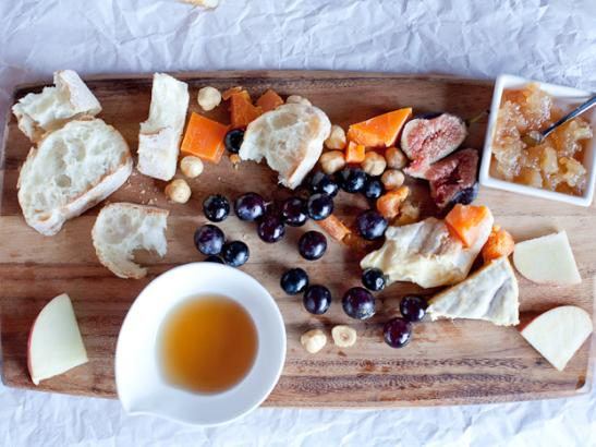 build a cheese board