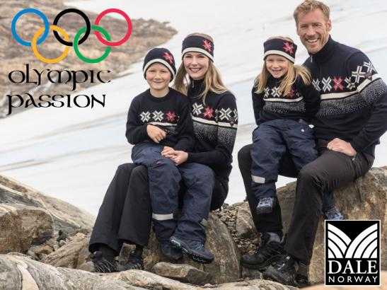 Dale Olympic Passion Sweater Family