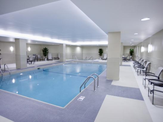 Swimming Pool, Whirlpoo and Sauna at the Doubletree by Hilton/Mayo Clinic Area