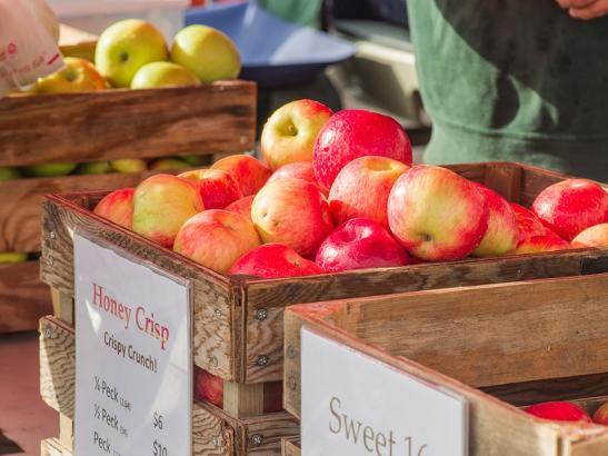 Crisp apples > credit choochoo-ca-chew.