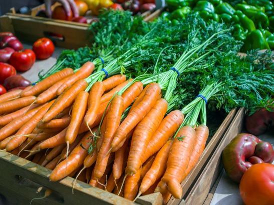 Fresh carrots > credit choochoo-ca-chew.