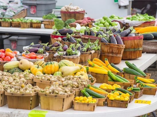 Colorful vegetables > credit choochoo-ca-chew.
