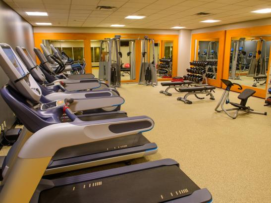 Fitness Center with Precor Equipment