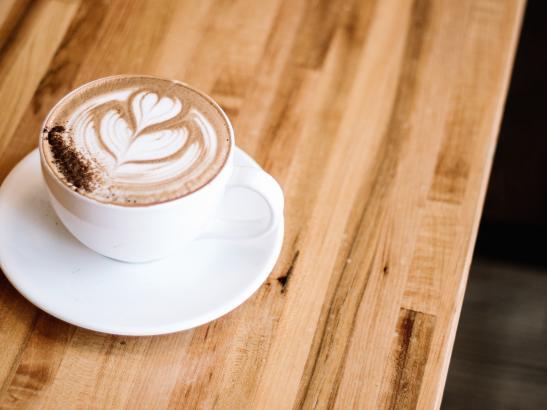 House made Mocha using Ghirardelli cocoa sugar in a latte.