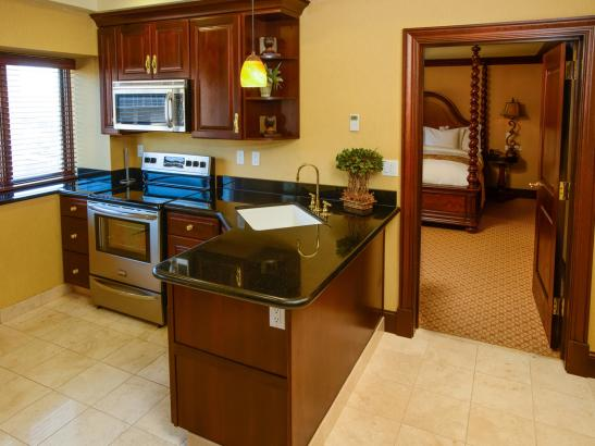 Presidential Suite Kitchen