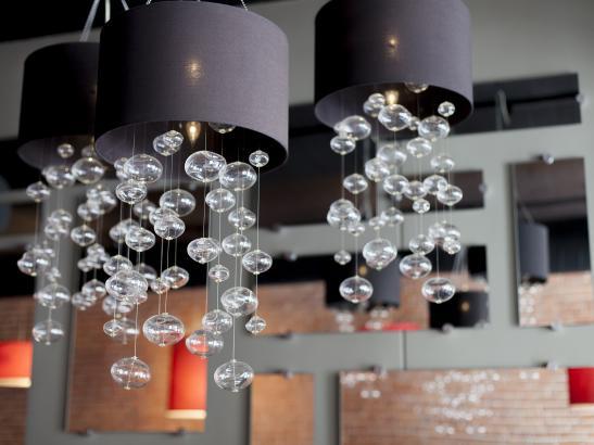 Glass bubble lights > credit olivejuicestudios.com.