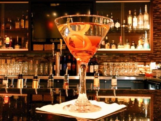 Martinis at Thyme Restaurant