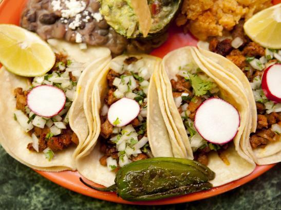 Tacos Platter | credit olivejuicestudios.com
