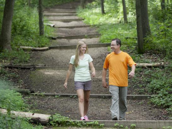 Hike the trails and view the natural area | credit olivejuicestudios.com