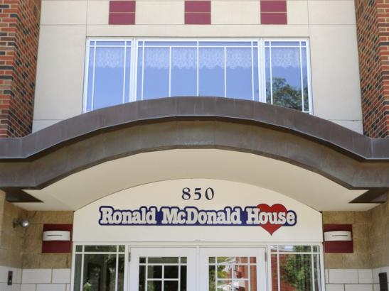 Inside Ronald McDonald House