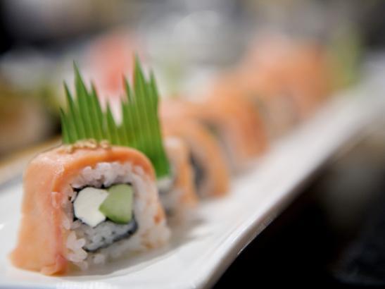 Sushi > credit olivejuicestudios.com.