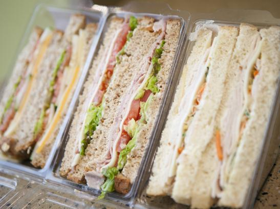 Sandwiches are made with locally sourced ingredients > credit olivejuicestudios.com.
