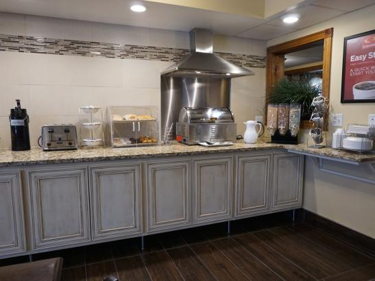Newly Renovated Deluxe Breakfast Line