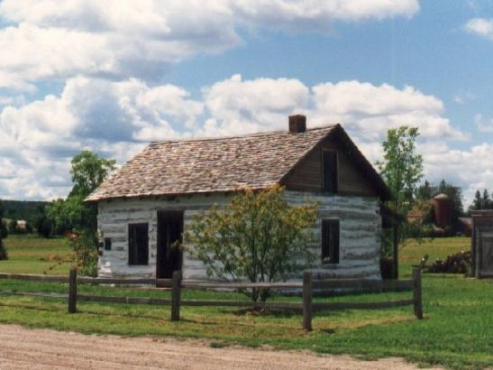 William Dee Log Cabin