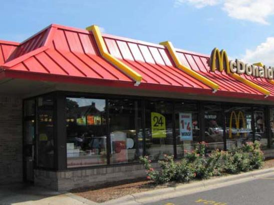 McDonald's 2nd Street location
