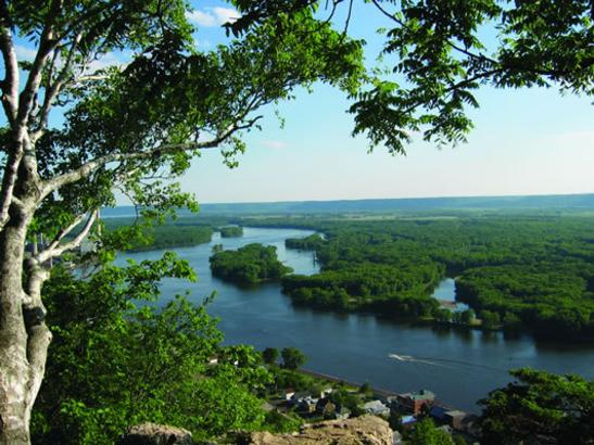 Bluff Overlooking Mississippi River
