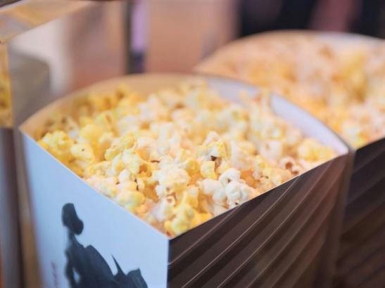 Popcorn at CMX Cinema.