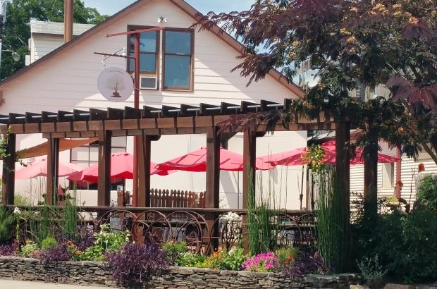 Carrboro Cafe patio