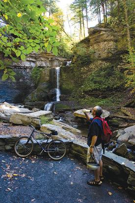 Hiking and Biking in Cayuga County