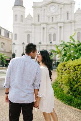 Jackson Square engagement