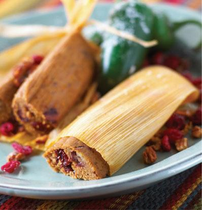 Cranberry Tamale