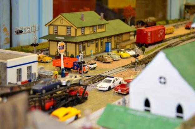 Children's Museum Train Room   Lake Charles, LA