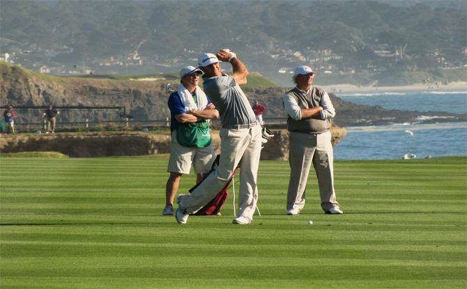 Golf events in Pebble Beach