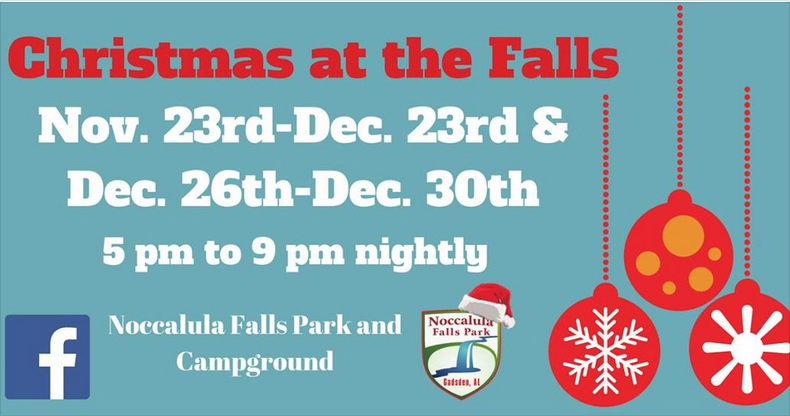 Christmas at the Falls
