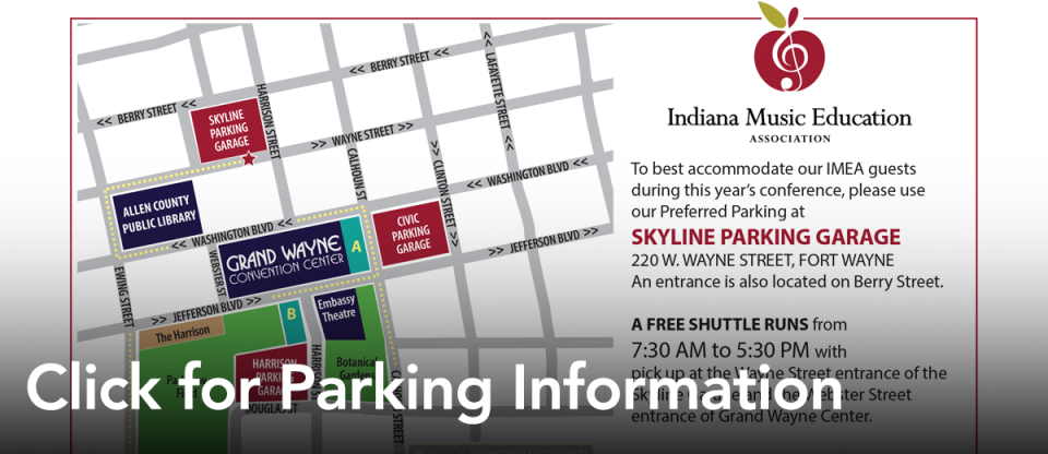 IMEA Parking Info
