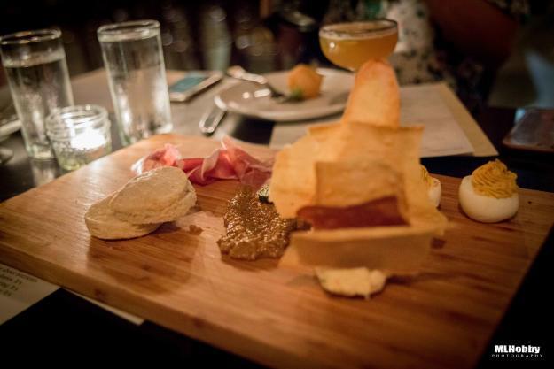 Cheeseboard at restaurant calla | Michael L. Hobby